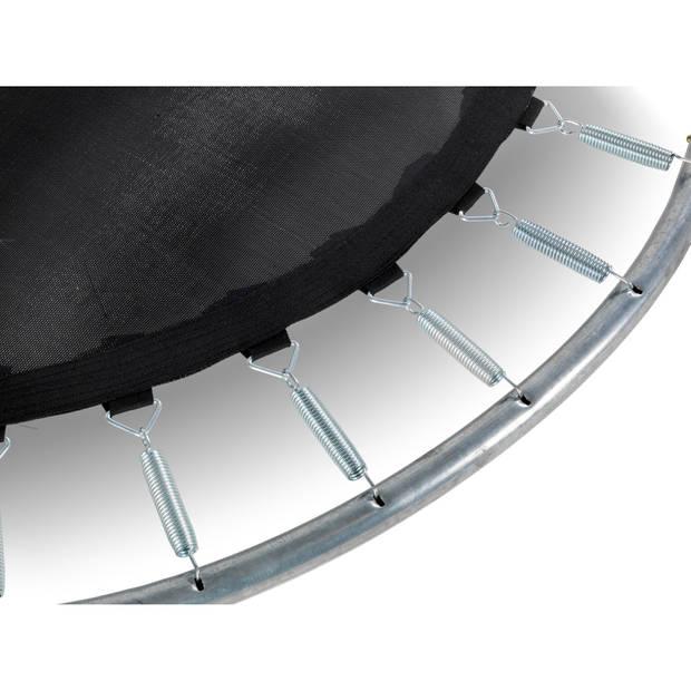 EXIT Black Edition inground trampoline ø305cm - zwart