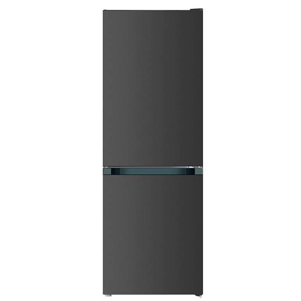 CHiQ FBM157L42 - Koel-vriescombinatie - 157 Liter (109 + 48) - Donker RVS - Omkeerbare deuren