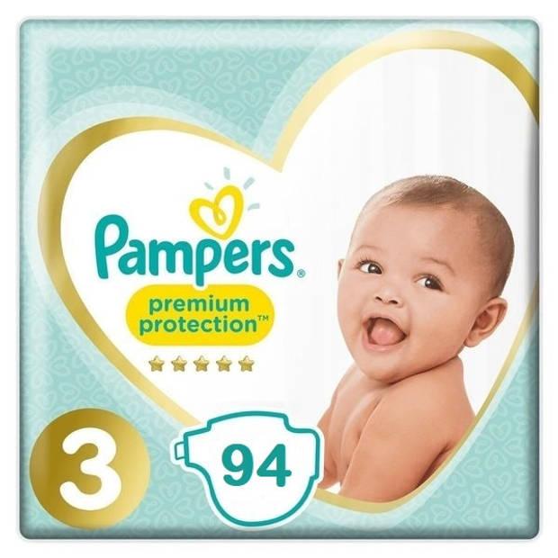 Pampers Premium Protection Luiers Maat 3 - 94 Luiers