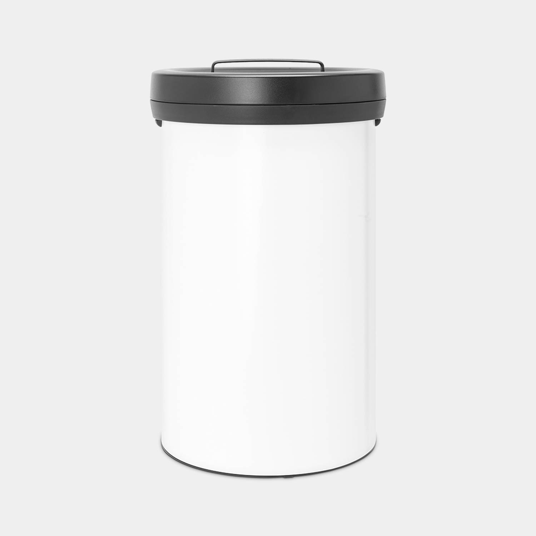Brabantia Big Bin Afvalemmer 60 Liter - White - Dark Grey