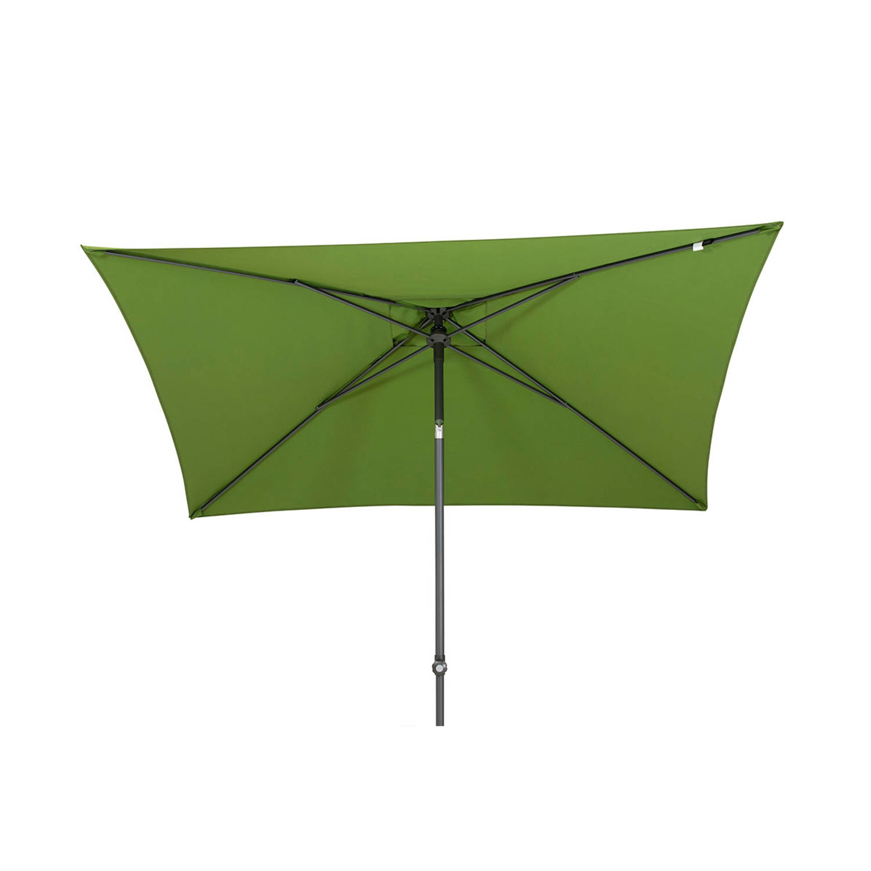 Korting 4 Seasons Outdoor Oasis Parasol 200 X 250 Cm Groen