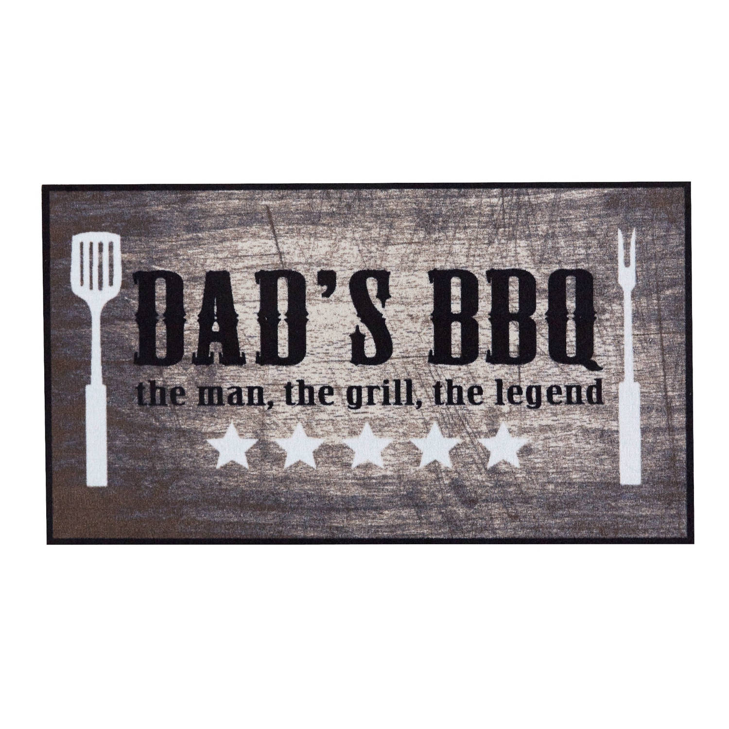 Md Entree Barbecue Mat Dad s Bbq 67 X 120 Cm