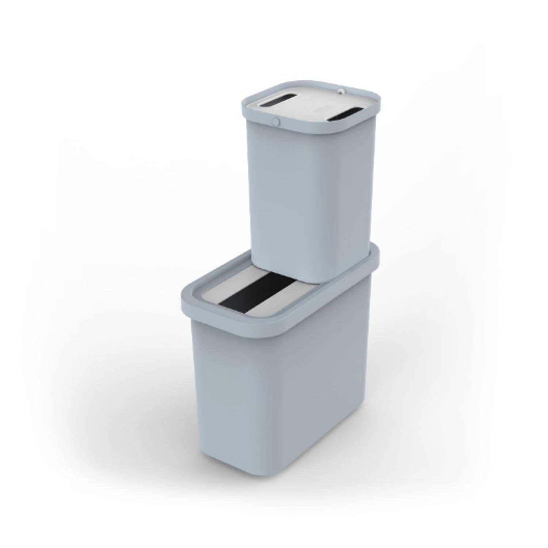 Gorecycle Recycling Afvalemmer, Set Van 2 Stuks, 46 Liter - Joseph Joseph