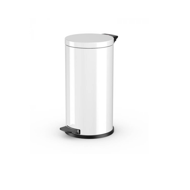 Hailo Pedaalemmer Solid L - 18 Liter - Wit