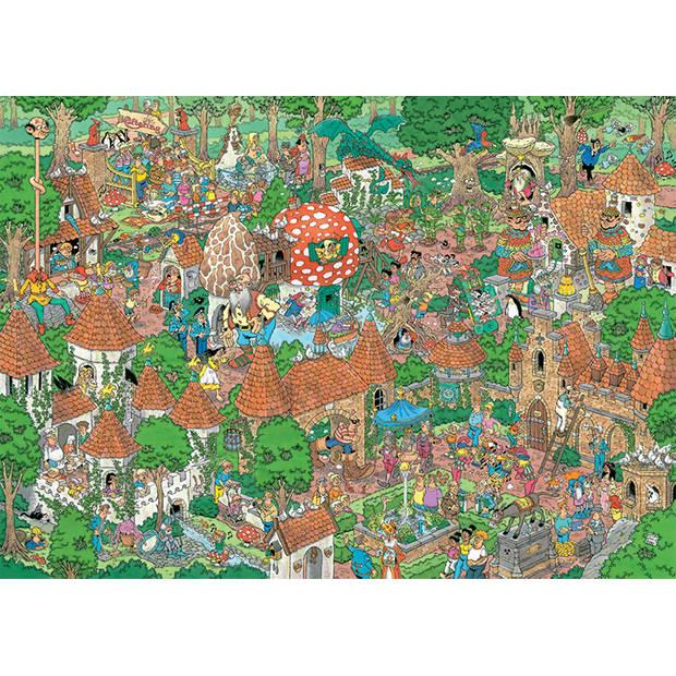 Jan van haasteren Efteling, Sprookjesbos - 1000 stukjes