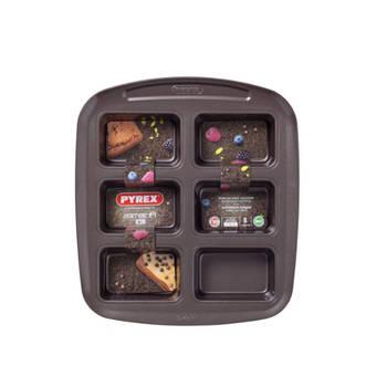Korting Bakplaat Voor 6 Mini Cakevormpjes Pyrex Asimetria