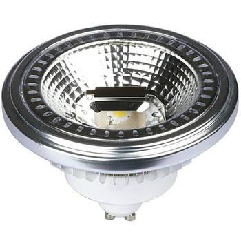 Korting Led Spot Viron Hanti Gu10 Fitting 12w Warm Wit 3000k Dimbaar Mat Wit Aluminium Vervangt 60w