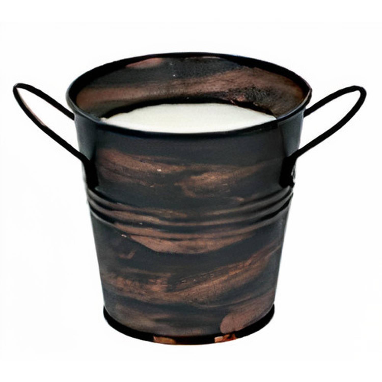Korting Arti Casa Citronellakaars 10,2 Cm Wax staal Brons