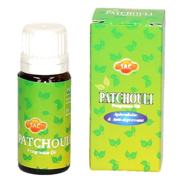 Setje geurolie potjes 5x stuks diverse geuren van 10 ml voor in een oliebrander - aroma olieen