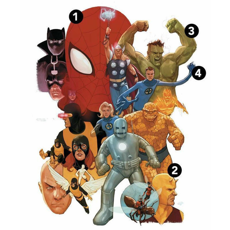 Roommates Muursticker Avengers Classic Jongens 75,7 Cm Vinyl