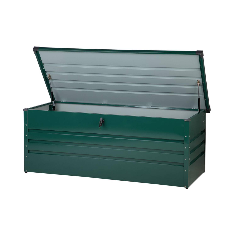 Beliani Cebrosa Kussenbox Staal 70 X 165 Cm