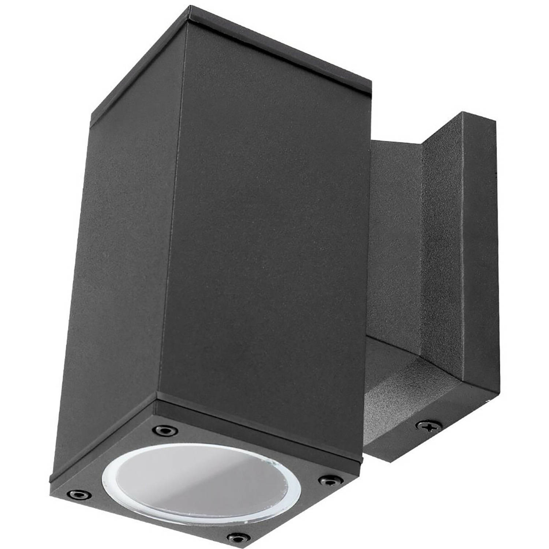 Philips - Led Tuinverlichting - Wandlamp Buiten - Corepro 840 36d - Aigi Wally Down - Gu10 Fitting -