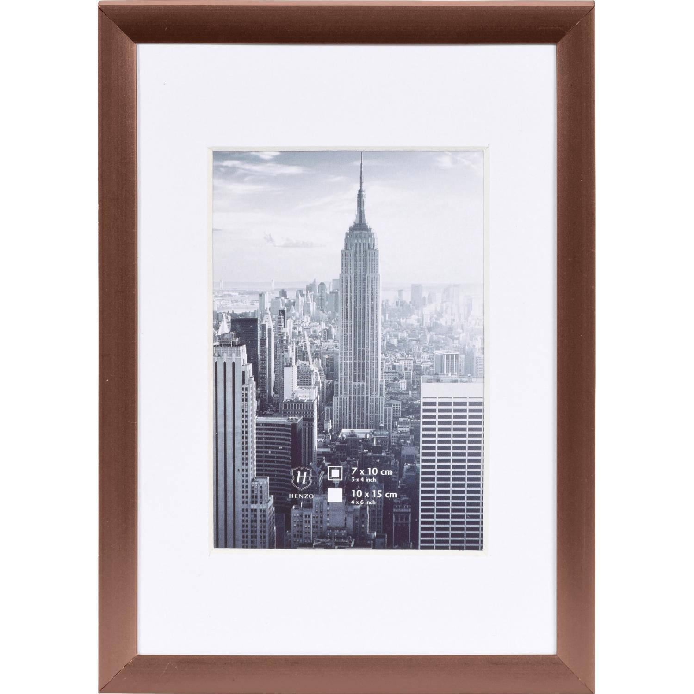 Korting Henzo Fotolijst Manhattan Fotomaat 10x15 Cm Brons