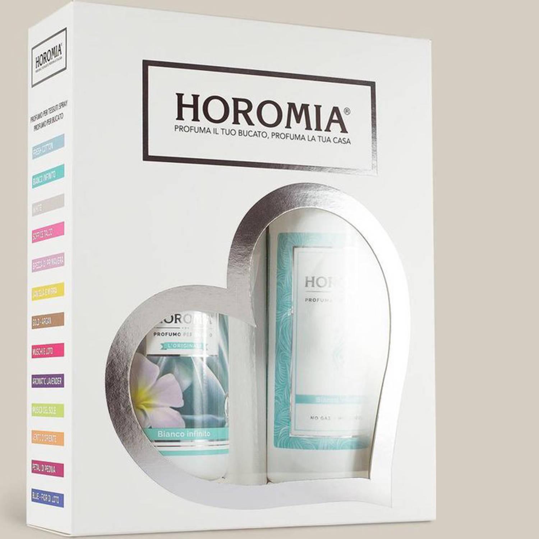 Korting Wasparfum Bianco Infinito Cadeaupakket Horomia