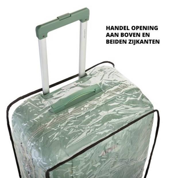 CarryOnKofferhoes-Beschermhoeskoffer-LuggageCoverLarge-Transparant