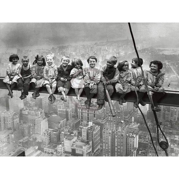 Bettmann - Kids over New York Kunstdruk 80x60cm