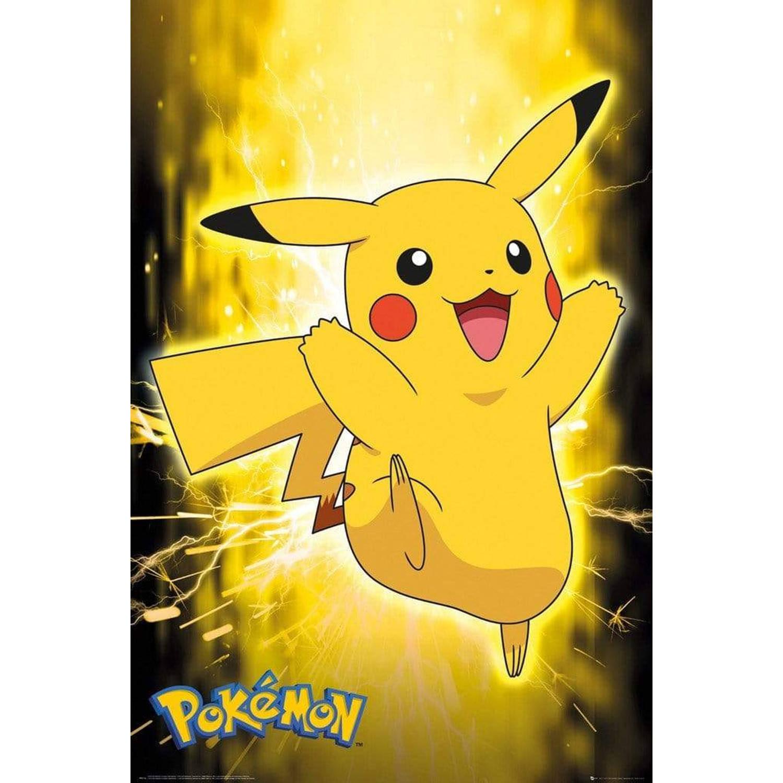 Gbeye Pokemon Pikachu Neon Poster 61x91,5cm
