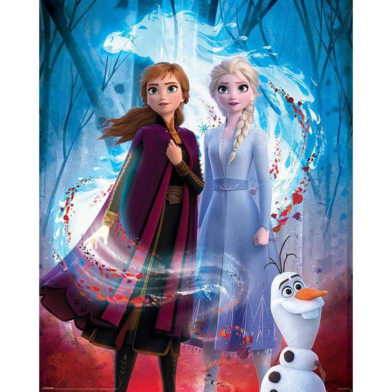 Pyramid Frozen 2 Guiding Spirit Poster 40x50cm