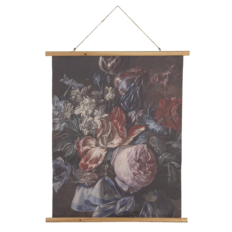 Clayre & Eef Wandkleed 5wk0034 80*2*100 Cm - Meerkleurig Hout /