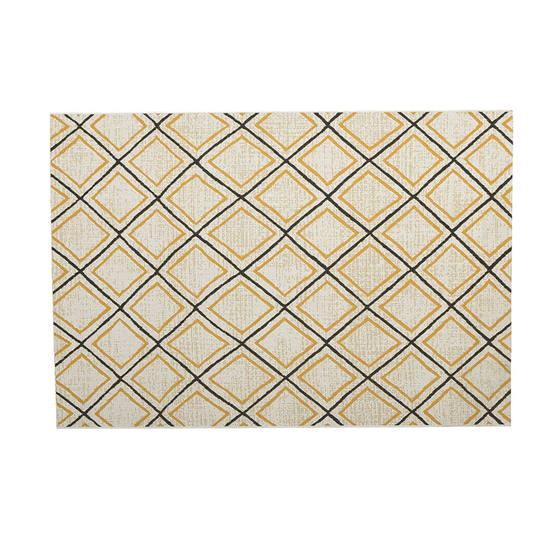 Korting Garden Impressions Buitenkleed Diamonds Oker 160x230 Cm