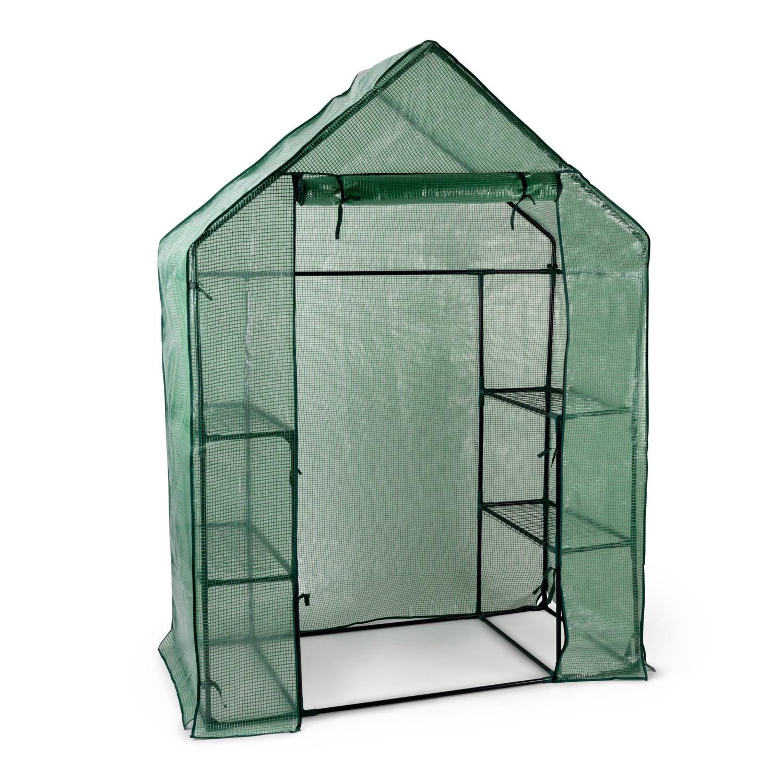 Kinzo Garden - Plastic Broeikas - Groen - 143 X 73 X 195