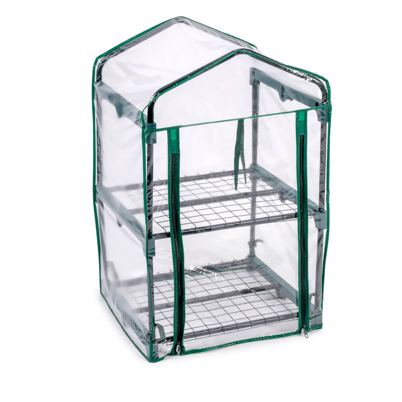 Kinzo Garden - Plastic Broeikas - Groen - 45 X 50 X 80 Cm