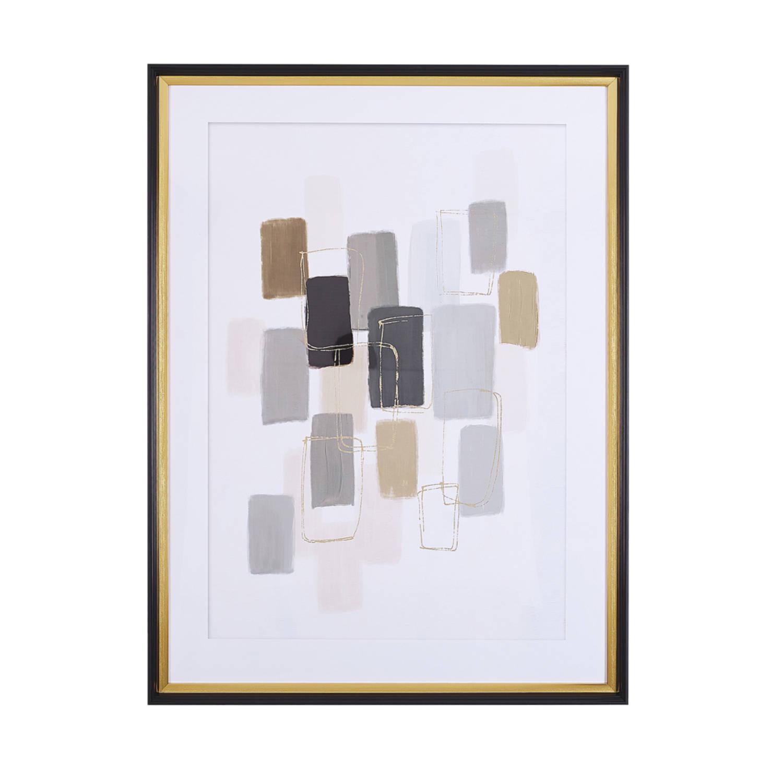 Beliani Areza Wanddecoratie Papier 5 X 60 Cm