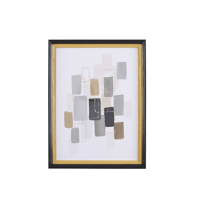 Beliani Areza Wanddecoratie Papier 5 X 30 Cm