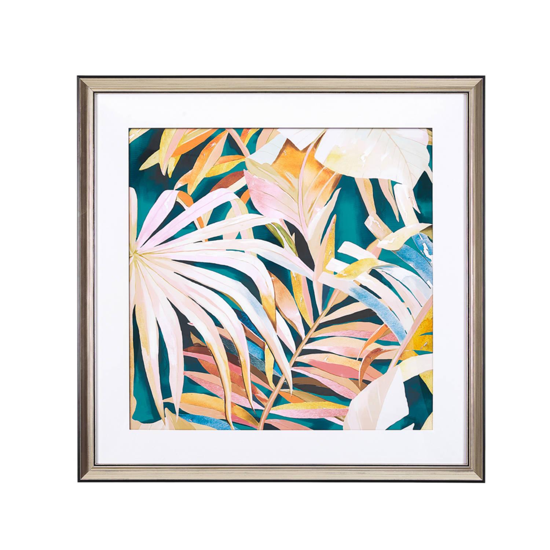 Beliani Galawa Wanddecoratie Papier 4 X 60 Cm