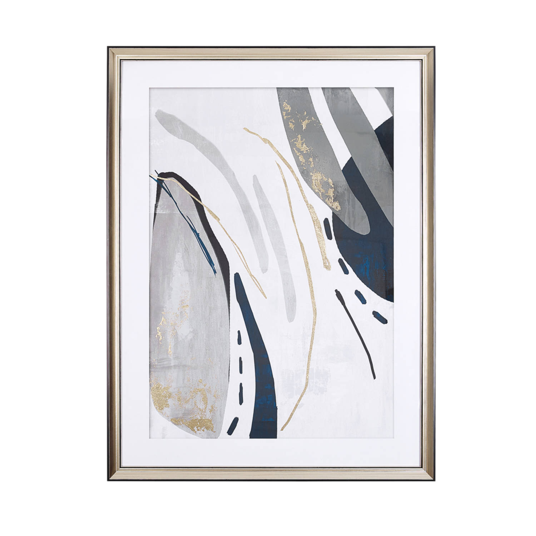 Beliani Hidmo Wanddecoratie Papier 5 X 60 Cm