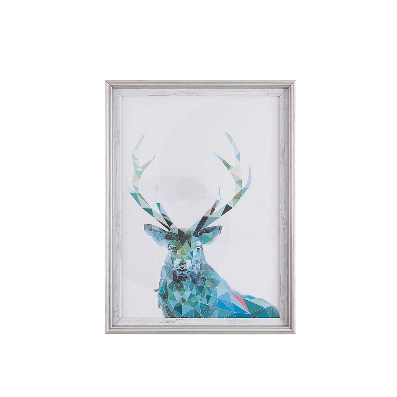 Beliani Kayes Wanddecoratie Papier 5 X 30 Cm