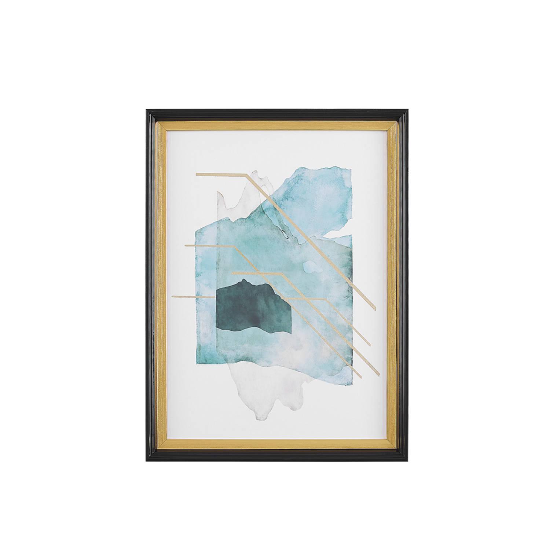 Beliani Touba Wanddecoratie Papier 5 X 30 Cm