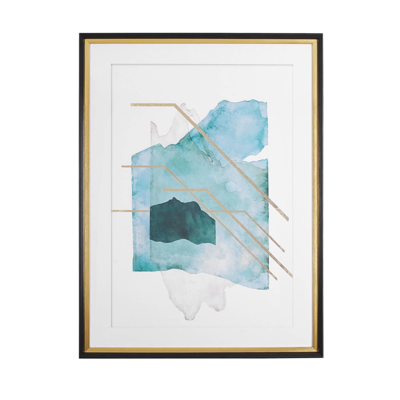 Beliani Touba Wanddecoratie Papier 5 X 60 Cm