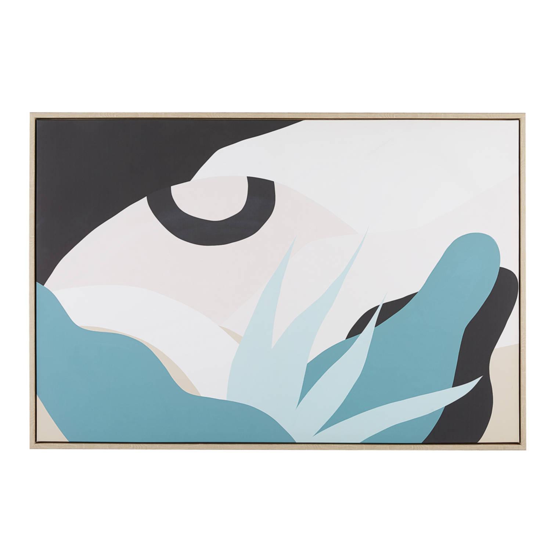 Beliani Fornea Wanddecoratie Polyester 5 X 93 Cm