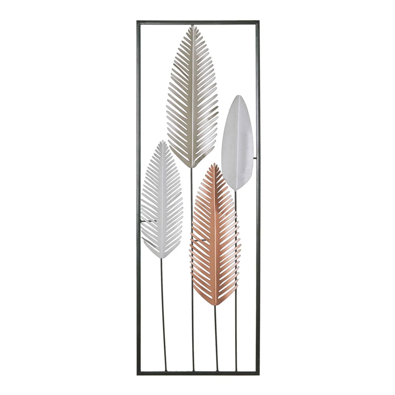 Beliani Niobium Wanddecoratie Metaal 4 X 31 Cm