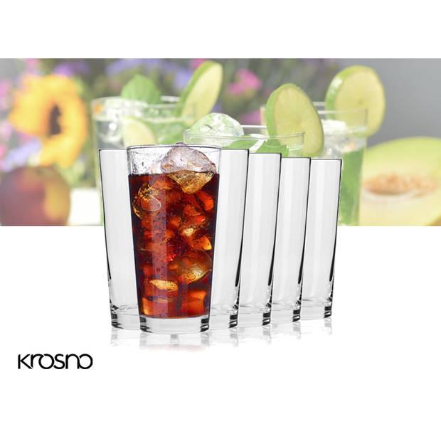 Krosno Pure Collection Longdrinkglazen - Set van 6 - 350ml