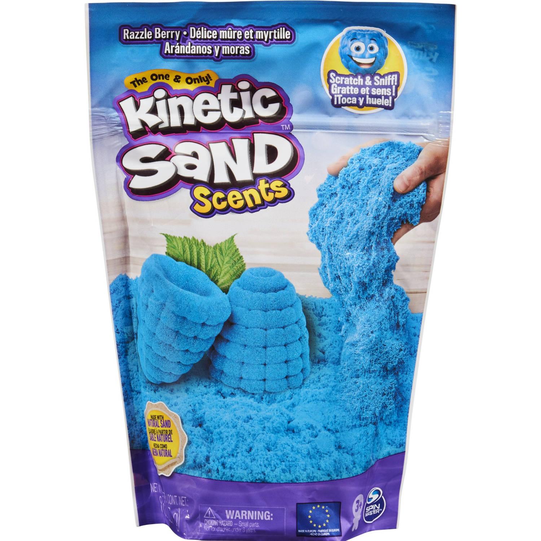 Kinetic Sand Speelzand Scented Sand Razzle Berry Junior Blauw
