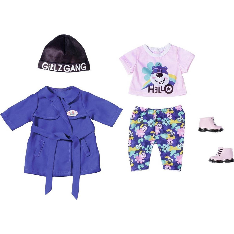 BABY born Poppenkleding Design Meisjes 43 Cm Polyester Paars/roze online kopen