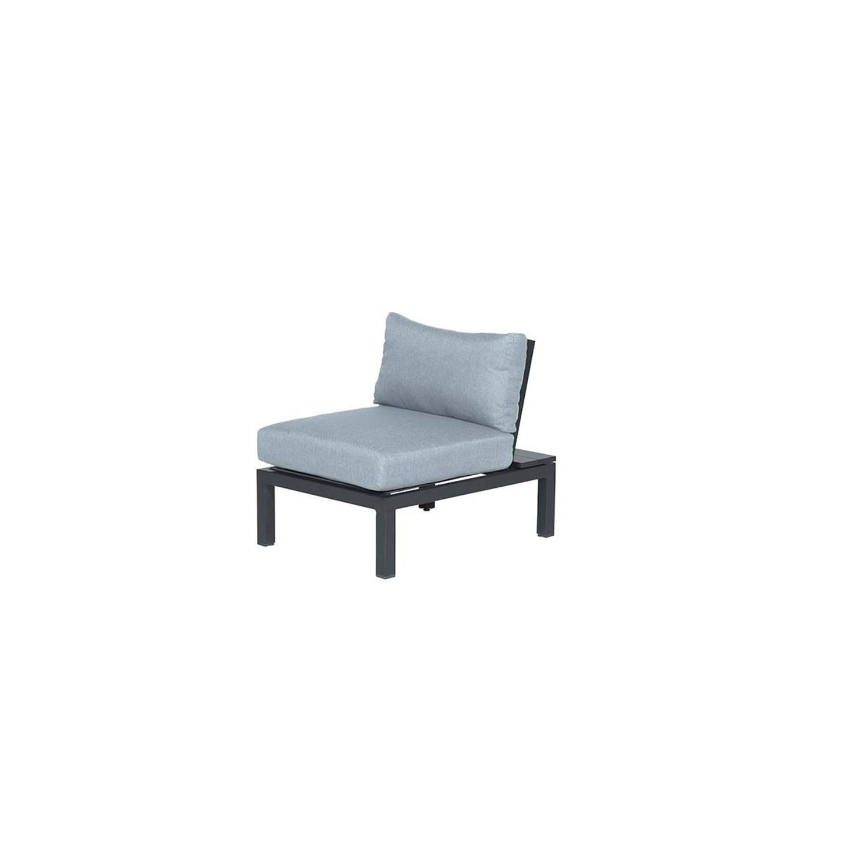 Garden Impressions Annabella Lounge Fauteuil - Carbon Black/ Mint Grey