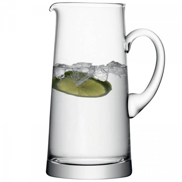 L.S.A. karaf Bar 1,9 liter glas transparant