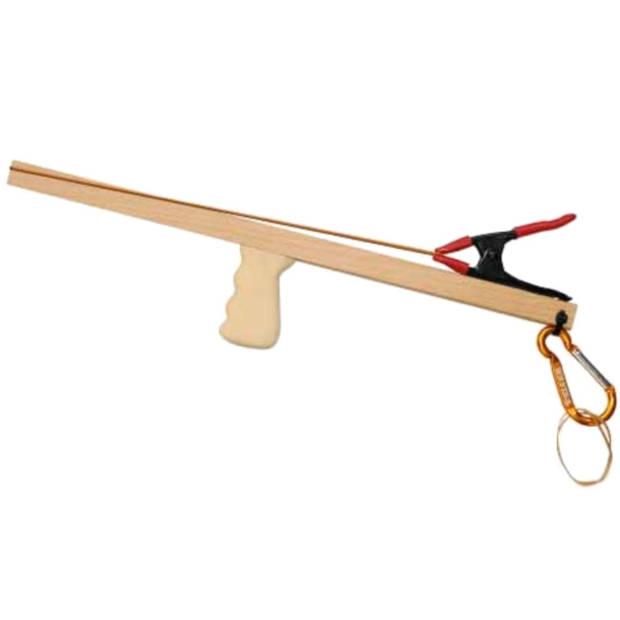 Kids At Work elastiekjesgeweer hout