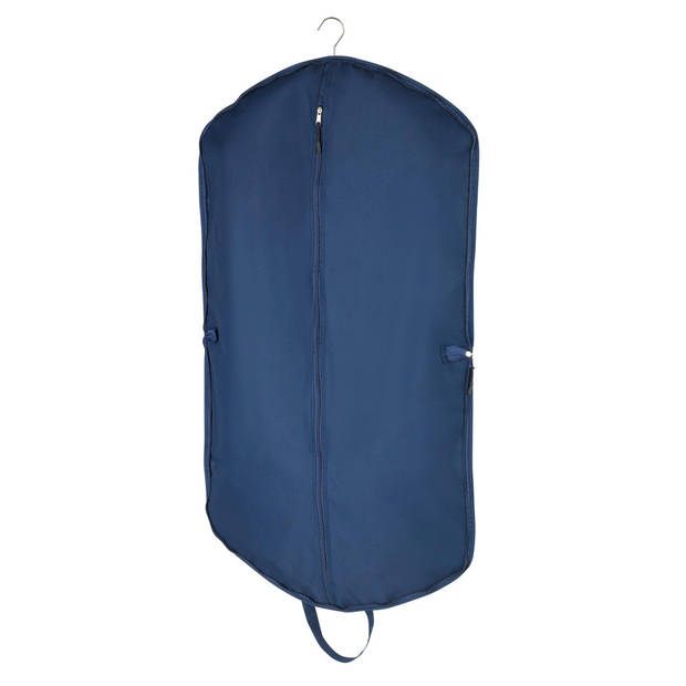 Wenko kledingzak Business 112 x 62 cm polyester donkerblauw