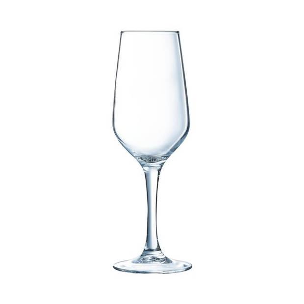 Arcoroc Lineal champagneglas - 18 cl - Set-6