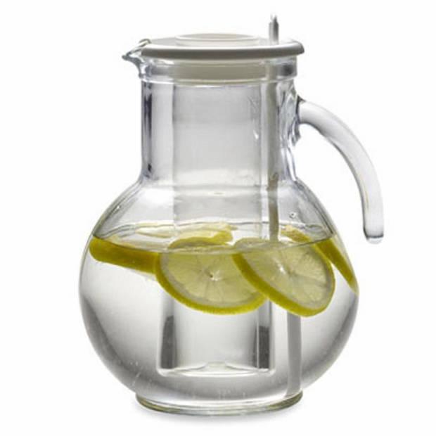 Bormioli Rocco Kufra waterkan - 2 liter - wit