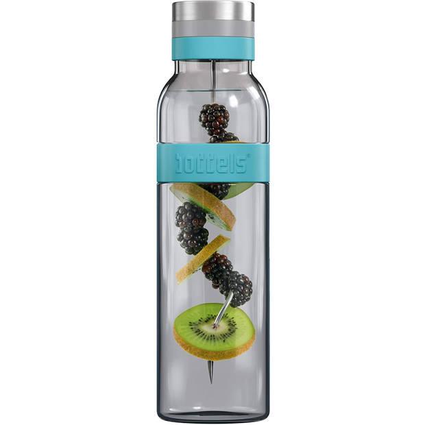 Boddels SUND Waterkaraf met fruit infuser - 1,1 liter - Turquoise
