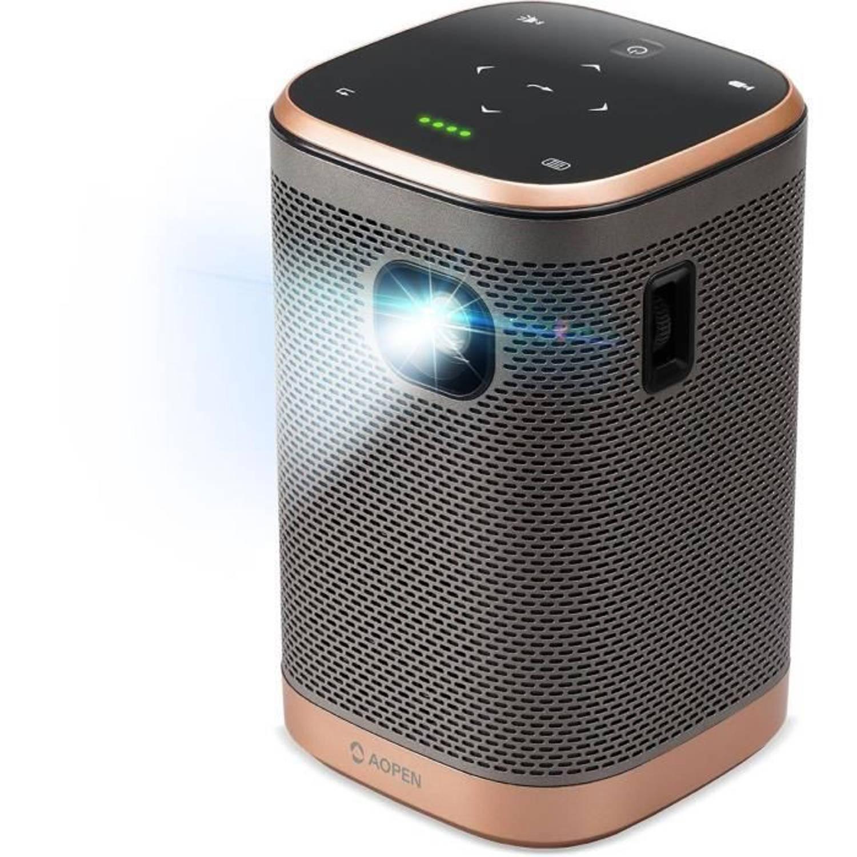 Acer AH15 beamer-projector Draagbare projector 700 ANSI lumens DLP 720p (1280x720) Goud, Grijs