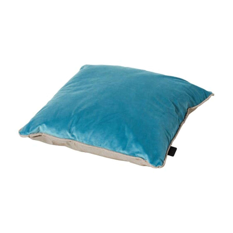 Madison Sierkussen Velvet 45 X 45 Cm Polykatoen Lichtblauw