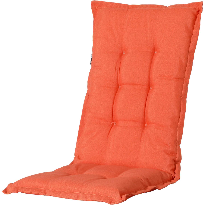 Madison Tuinstoelkussen Panama 105 X 50 Cm Polykatoen Oranje