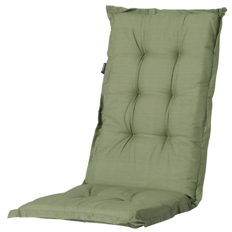 Madison Tuinstoelkussen Basic 123 X 50 X 7 Cm Polykatoen Groen