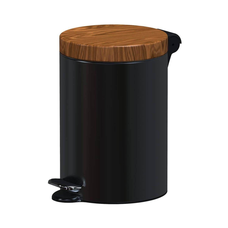 Alda Excellent - Prullenbak 3l - Zwart